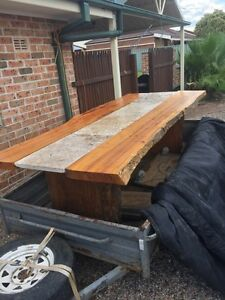timber slab table Bligh Park Hawkesbury Area Preview
