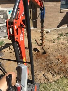 P&D Hire (mini excavator)