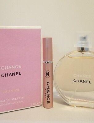 CHANCE Chanel Eau Vive Perfume Travel Atomizer 5ML