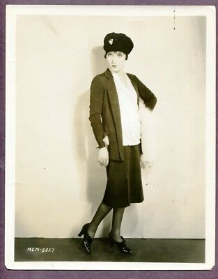 PAULINE STARKE Flapper Jazz Baby Girl Fashion 1927 PHOTO SIlent Film Star J3762