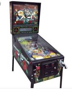 Wanted: Looking for a Guns n Roses and system 11 pinball and others