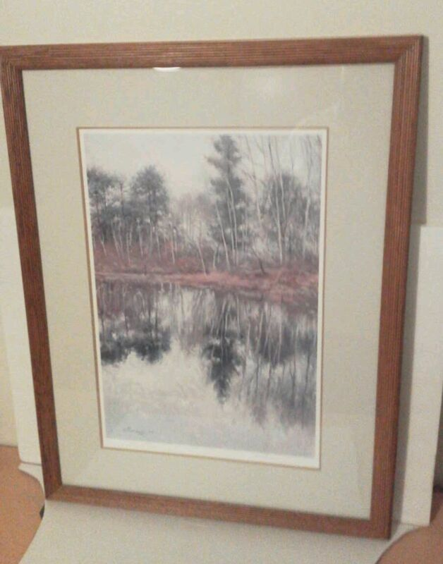 Rare Richard Thompson Framed Litho Ltd. Edition. 199/1000, Signed