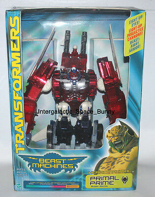Hasbro Transformers Beast Machine Prototype Toy Fair Sample Optimal Optimus MIB