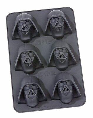 Star Wars Muffin Backform Kuchen Eis / Darth Vader 6 tlg / Silikonform NEU OVP