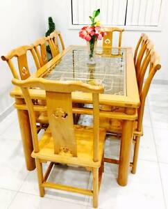 Dining table with 8 chairs Liverpool Liverpool Area Preview