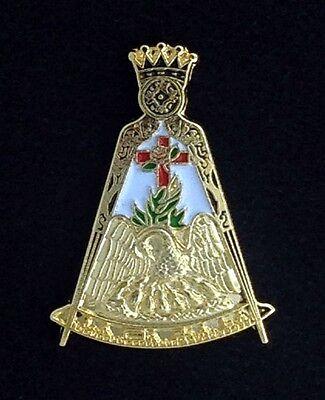 Masonic Scottish Rite Rose Croix Lapel Pin - Version 2 (18-LP2)