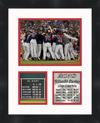 Boston Red Sox 2018 World Series Framed Photo Memorabilia Collage Frames By Mail