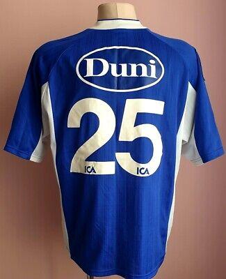 Halmstads 90s Home football Adidas shirt #25 Match Worn? image