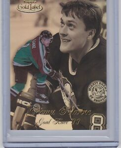 1998-99-TOPPS-GOLD-LABEL-TEEMU-SELANNE-GOAL-RACE-99-GR3-DUCKS