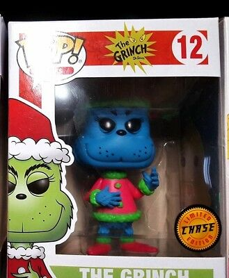Funko Der Grinch POP! Books Vinyl Figuren Grinch in Santa Outfit  Chase Version
