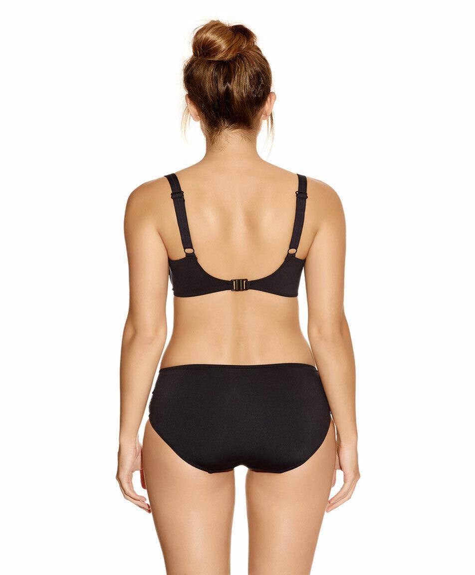 586396cb492dc Fantasie Versailles Bikini Briefs Deep Gathered Control Lining Bikini  Briefs 5752 Black Various