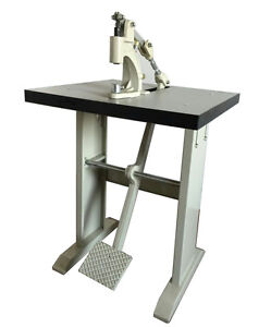 Grommet & Snap Press Machine By Foot,With Wood Top & L LEGS,22