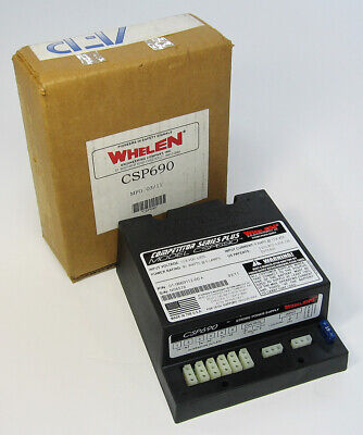 New Whelen Csp690 Strobe Power Supply Competition Series Plus 01-0669112-00a