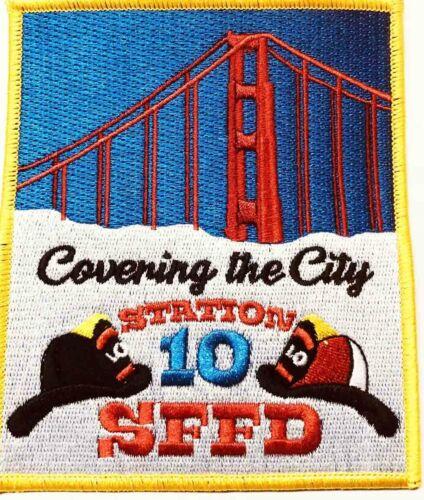 Fire Patch 10 San Francisco Fire Station 10 Near Presidio and GG Bridge!