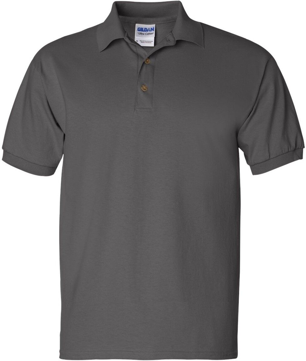 Gildan Ultra Cotton Jersey Polo Shirt 2800 Ebay