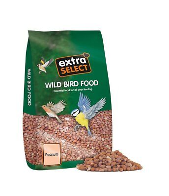 Extra Select Peanuts Winter Bird Feed Wild Bird Food Peanuts 25 Kg Sack