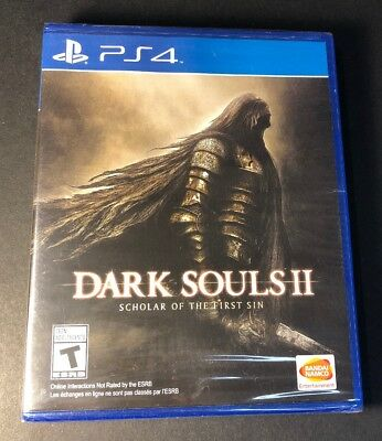 Dark Souls II [ Scholar of the First Sin ] (PS4) NEW comprar usado  Enviando para Brazil