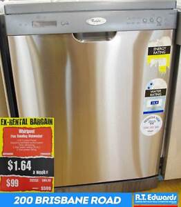 Whirlpool Free Standing Dish Washer - Model ADP6000IX Booval Ipswich City Preview