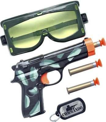 MILITARY GUN SET - FANCY - Kostüm Military Gun Set