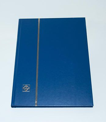 LIGHTHOUSE HARDCOVER STOCKBOOK, BLUE- LS4/16 32 PAGE-FREE SHIPPING