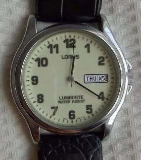 Lorus Lumibrite watch