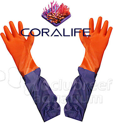 Aqua Gloves Aquarium/Tank Maintenance Coralife 28""