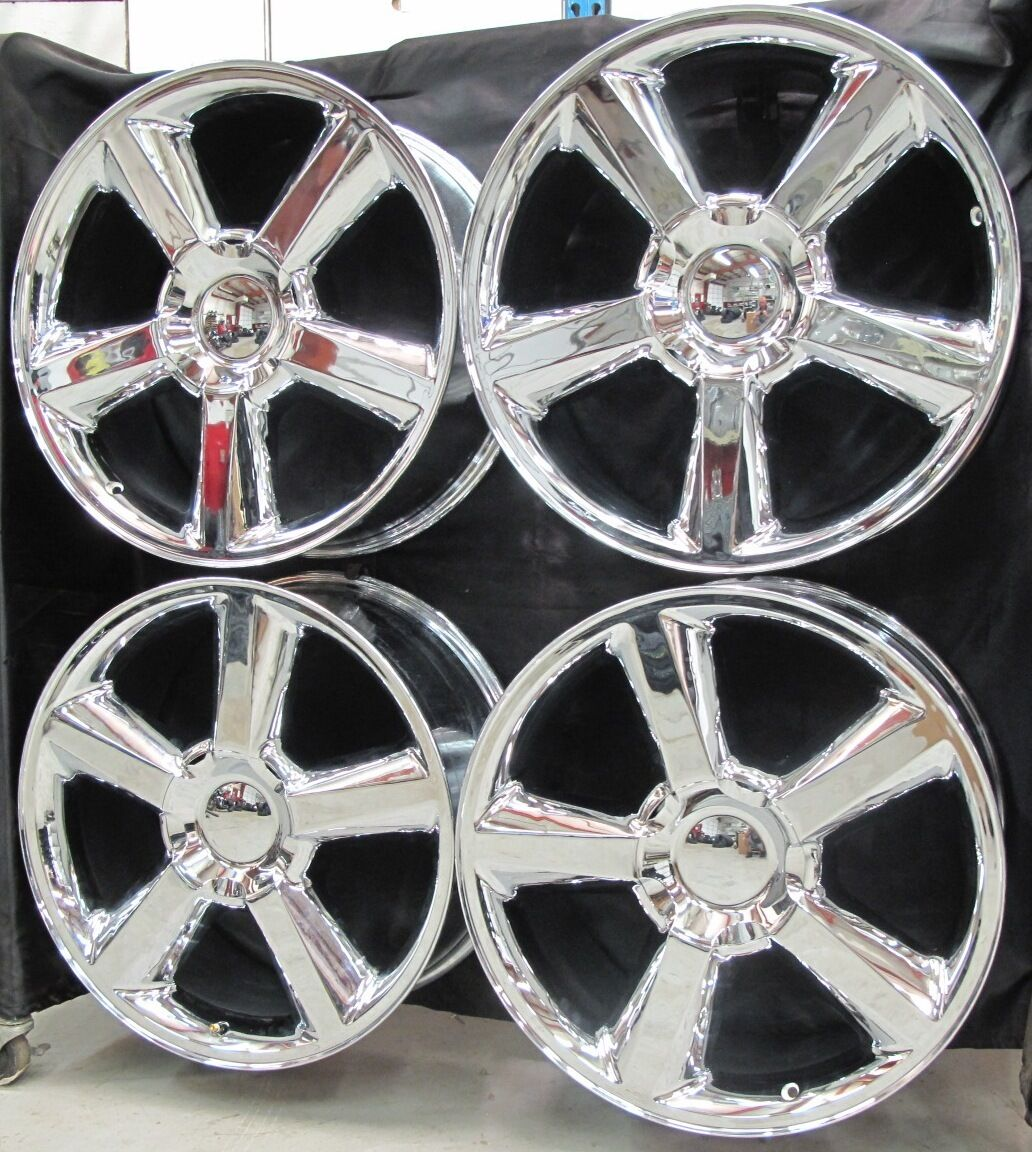 20 Chevy Gmc Escalade Factory Style Chrome Wheels Rims 5308