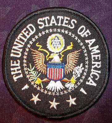 USA PATCH UNITED STATES OF AMERICA SEAL CREST PATCH EAGLE USA POTUS MILLITARY