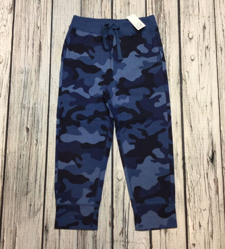 Baby Gap Boys 3 / 3T Blue Camouflage Pants. Nwt