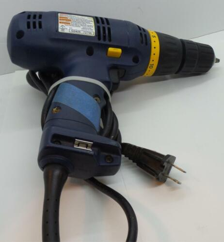 Ryobi 3/8 IN 10MM Clutchdriver Variable Speed Drill Driver D45C Corded - $29.99