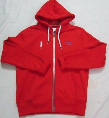 Superdry Orange lebel Ziphood Red Men Sweaters L