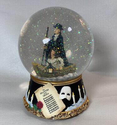 Phantom of the Opera Snow Globe San Francisco Music Box Company Christine