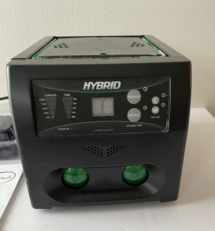 Venmill HYBRID 2.0 Disk Repair Machine - Working, w/ Replacement Pads + Chips