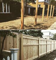 Fence Post Hole Digging And Reliable Install
