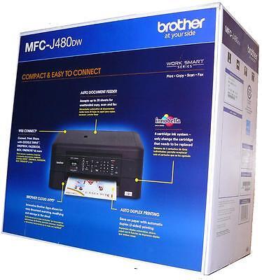 Brother MFC-J480dw Color All in One Printer copier scanner (ref J485DW 470 450)