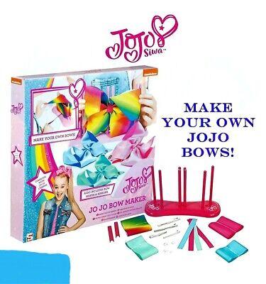 JoJo Siwa Bows Children's Deluxe Bow Maker Set Gift Idea