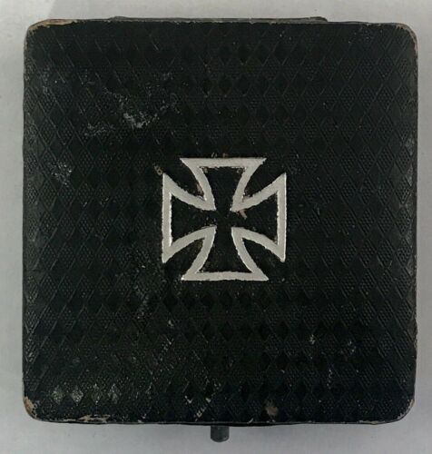 WW1 Imperial German Iron Cross Soldier Medal Badge Dated 1914 World War 1 w/Box