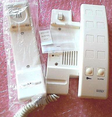 Intercom Door Phone Doorbell System Home Security Elbex New In Box Ehp 4