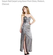 Silver sequin ball dress size M/10 RRP $199 Nedlands Nedlands Area Preview