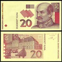 Croatia 20 Kuna 1993 Test Note Unc Offer -  - ebay.es