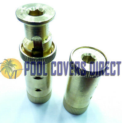 MEYCO POOL COVER POP UP ANCHOR BRASS POP-UP FOR CONCRETE Quantity discounts