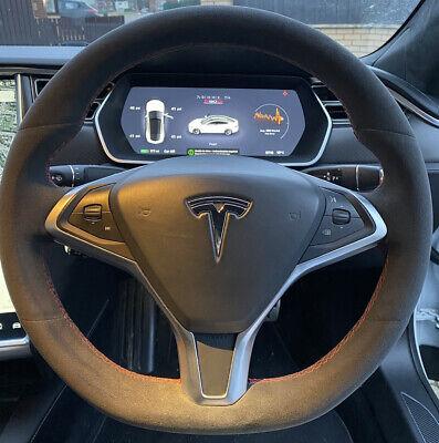 Tesla Steering Wheel upgrade - New Alcantara for Model S/X