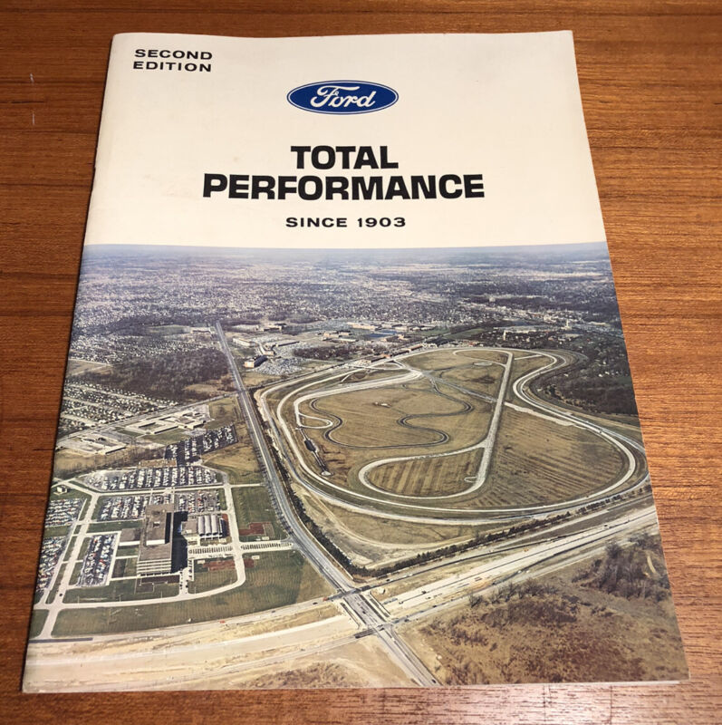 Ford Total Performance Brochure Second Edition 1964