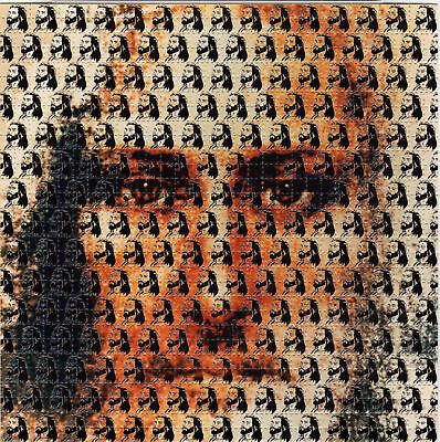 JESUS CHRIST perforated BLOTTER ART psychedelic LSD Acid Art paper sheet tabs