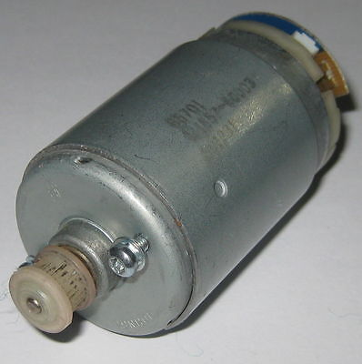 Electric Motor With Plastic Gear - 12 V Dc - 2400 Rpm Johnson Electric 555 Size