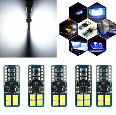 10Pcs Multi-purpose Car Interior 3030 LED Light Super Bright 6000K White Bulbs ()