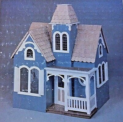 Wooden Canterbury Victorian Dollhouse Kit G8802 GG Products With Furniture