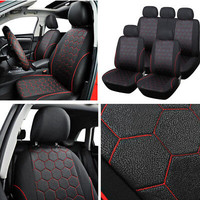 Soccer Seat - Set Soccer Ball Style Vehicle Car Interior Accessories Seat Cover Stretchability