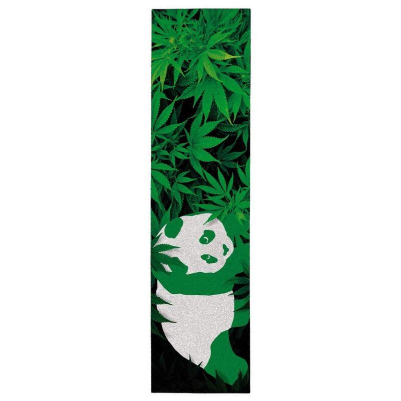 "Enjoi Skateboard Griptape 420 Panda Green 9"" x 33"""