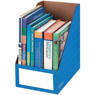Fellowes Magazine File Holder Ltr 8x11-34x12-34 Blue 3380901